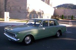 My 1964 Chrysler Valiant (AP5) sedan