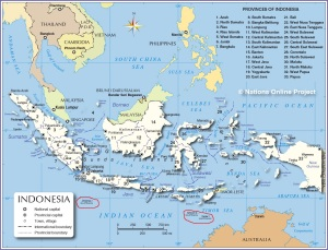 Indonesia admin map