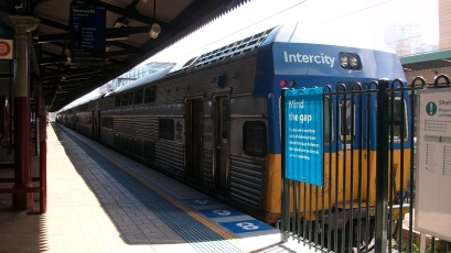 Inter-urban electric Central Sydney