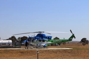 SouthCare chopper based at Hume (ACT)