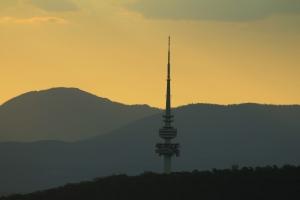 Telstra Tower (Sunset)