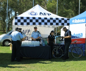AFP display stall