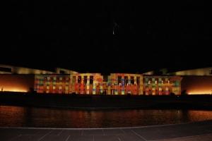 Parliament House - Enlighten Display graphic 3