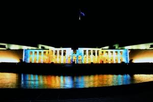 Parliament House - Enlighten Display graphic 2