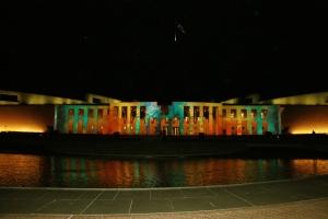 Parliament House - Enlighten Display graphic 4