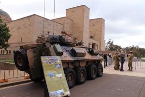 Armoured Vehicle AWM 2014