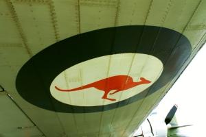 Douglas Dakota - VH-EAF wing (rivets)