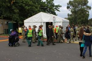St John Ambulance tent (AWM 2014)