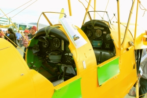 Tiger Moth (VH -COA) cockpit