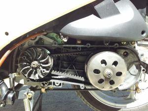 Kymco transmission belt drive