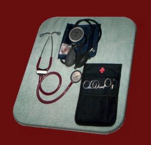 Some of my nursing kit