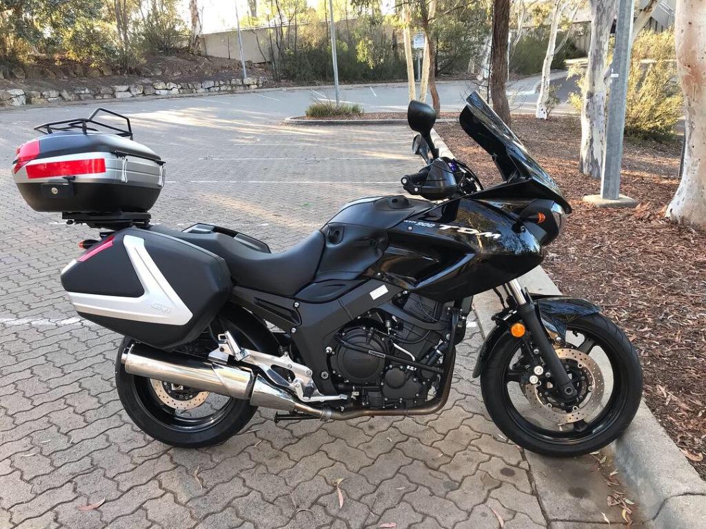 Yamaha TDM900 (2009)